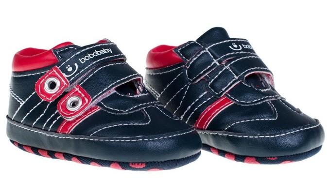 Dětské capáčky černo-červené-velikost  74 f6acae05f0
