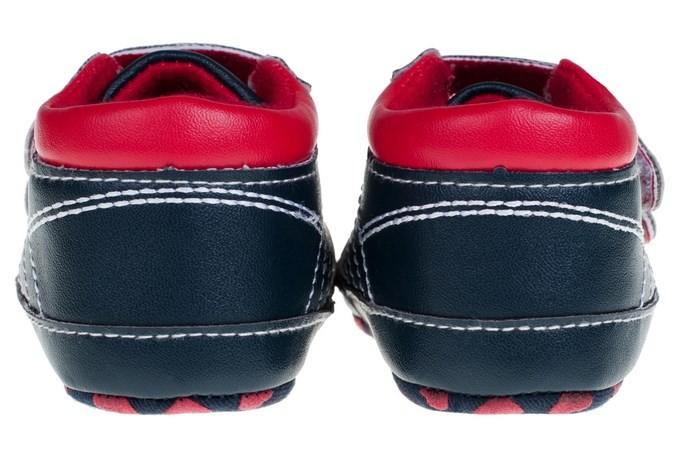 Kompletní specifikace. Dětské capáčky černo-červené-velikost  74 d694bef55d