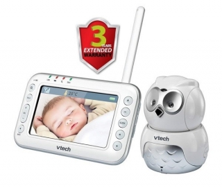 "Video chůvička 4,3"" Vtech BM4600 Sova"