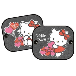 Stínítka do auta 2 ks v balení Hello Kitty 2